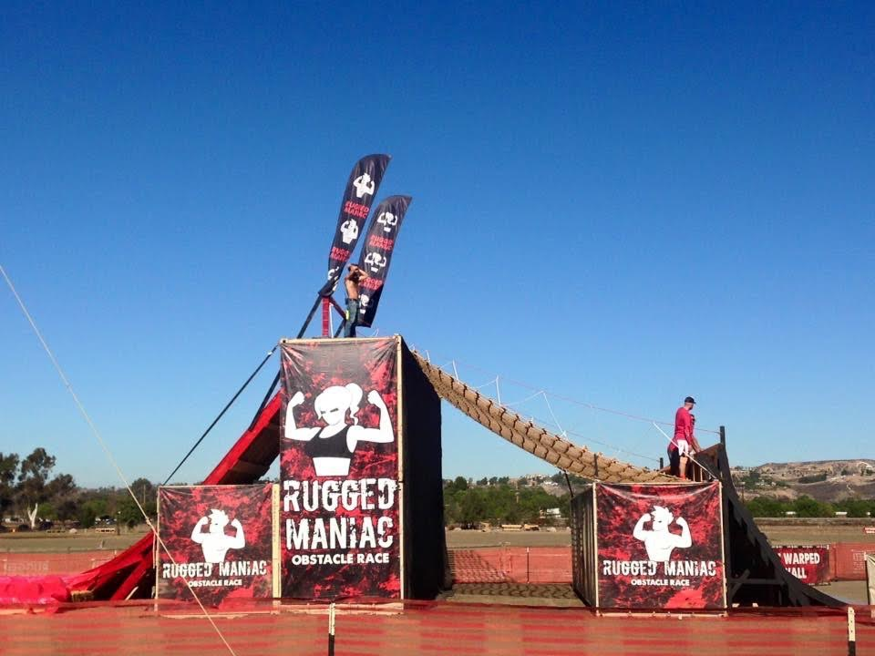 Rugged Maniac Last Obstacle