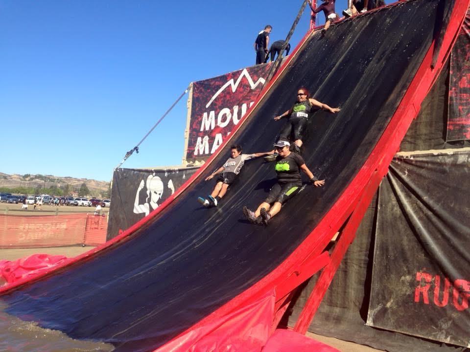 Rugged Maniac Slide