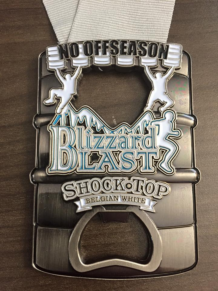 Blizzard Blast Medal