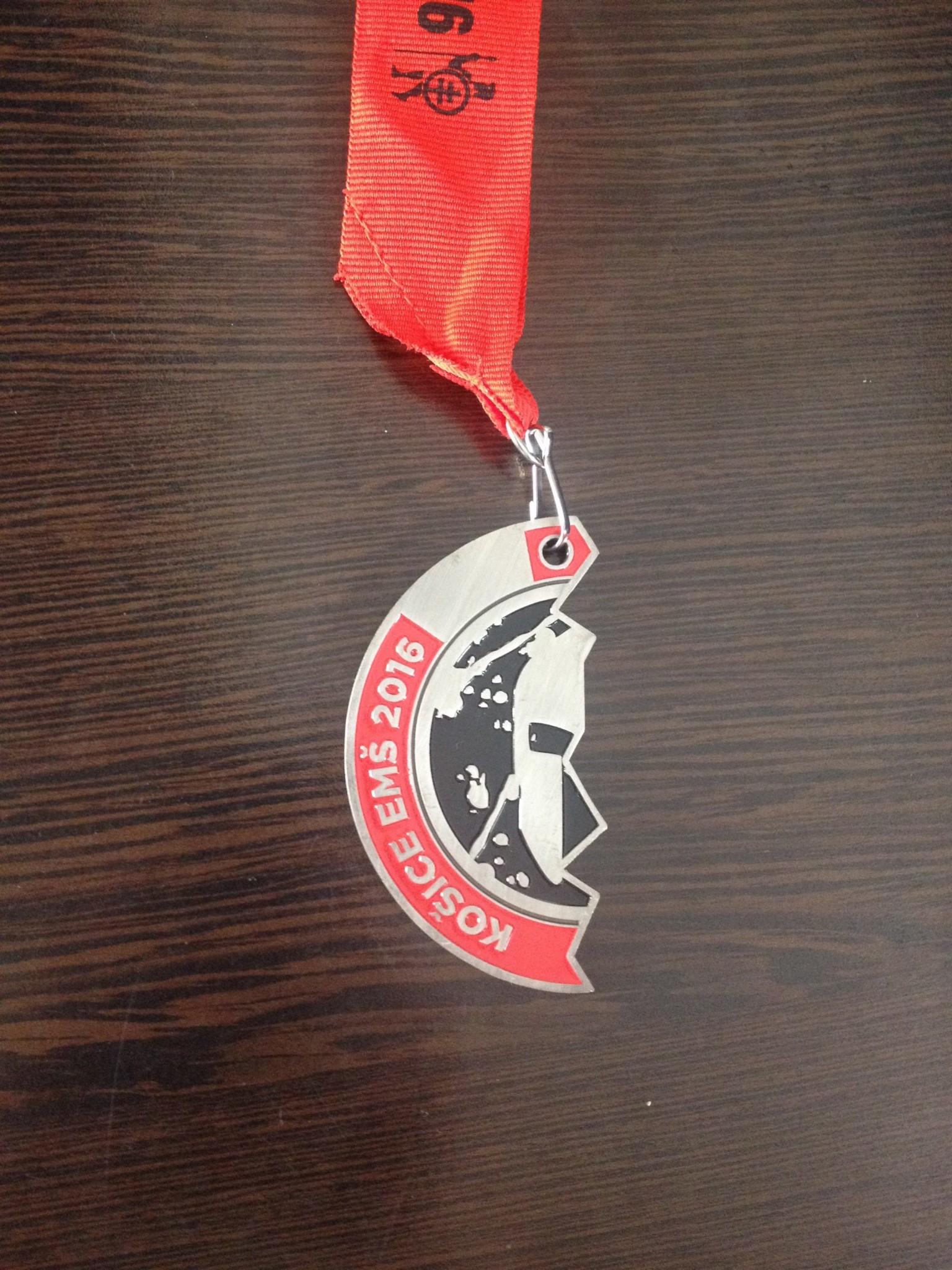 Spartan Race - Kosice - Slovakian medal