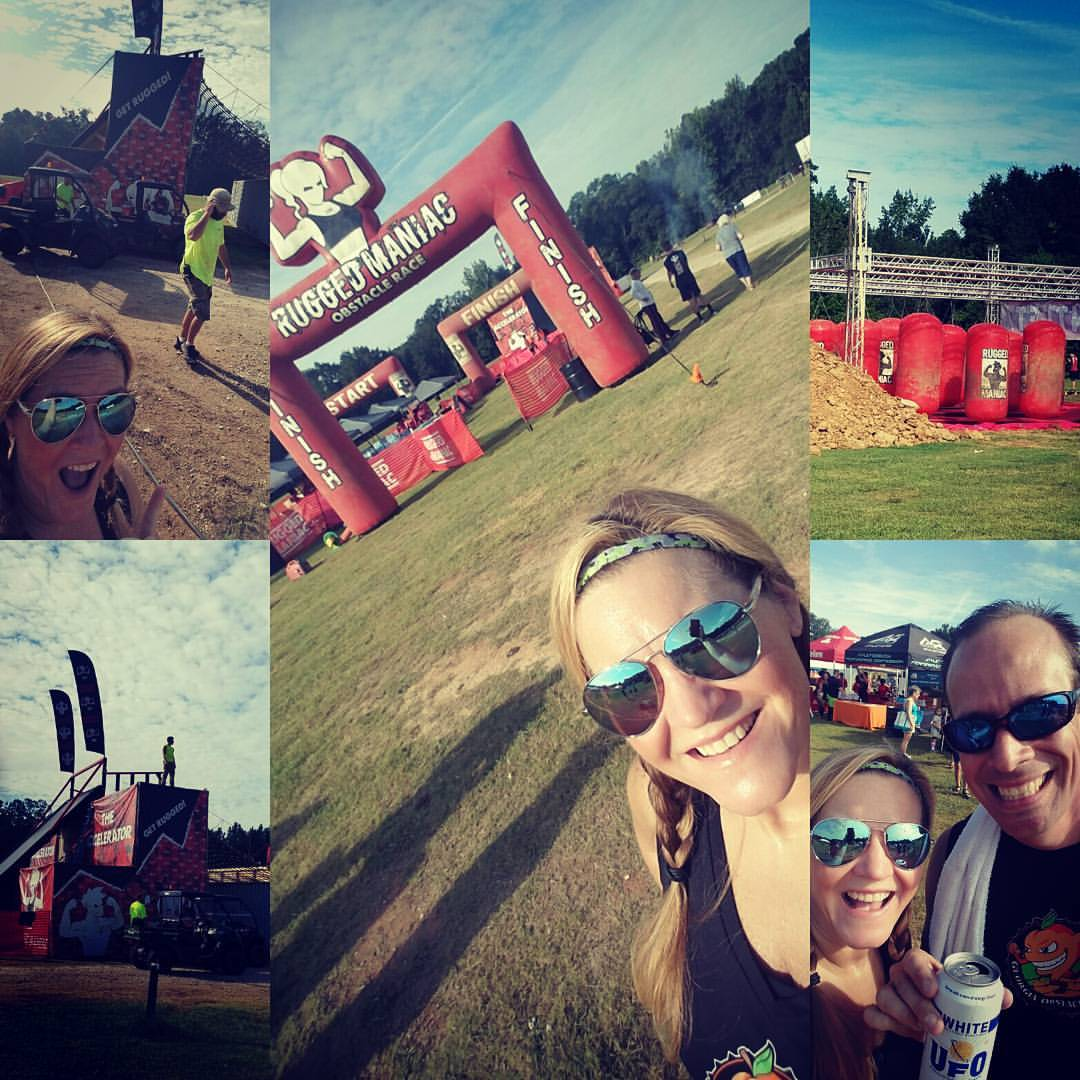 Rugged Maniac Atlanta - Pre Race Carb Load and Festival Area Obstacles