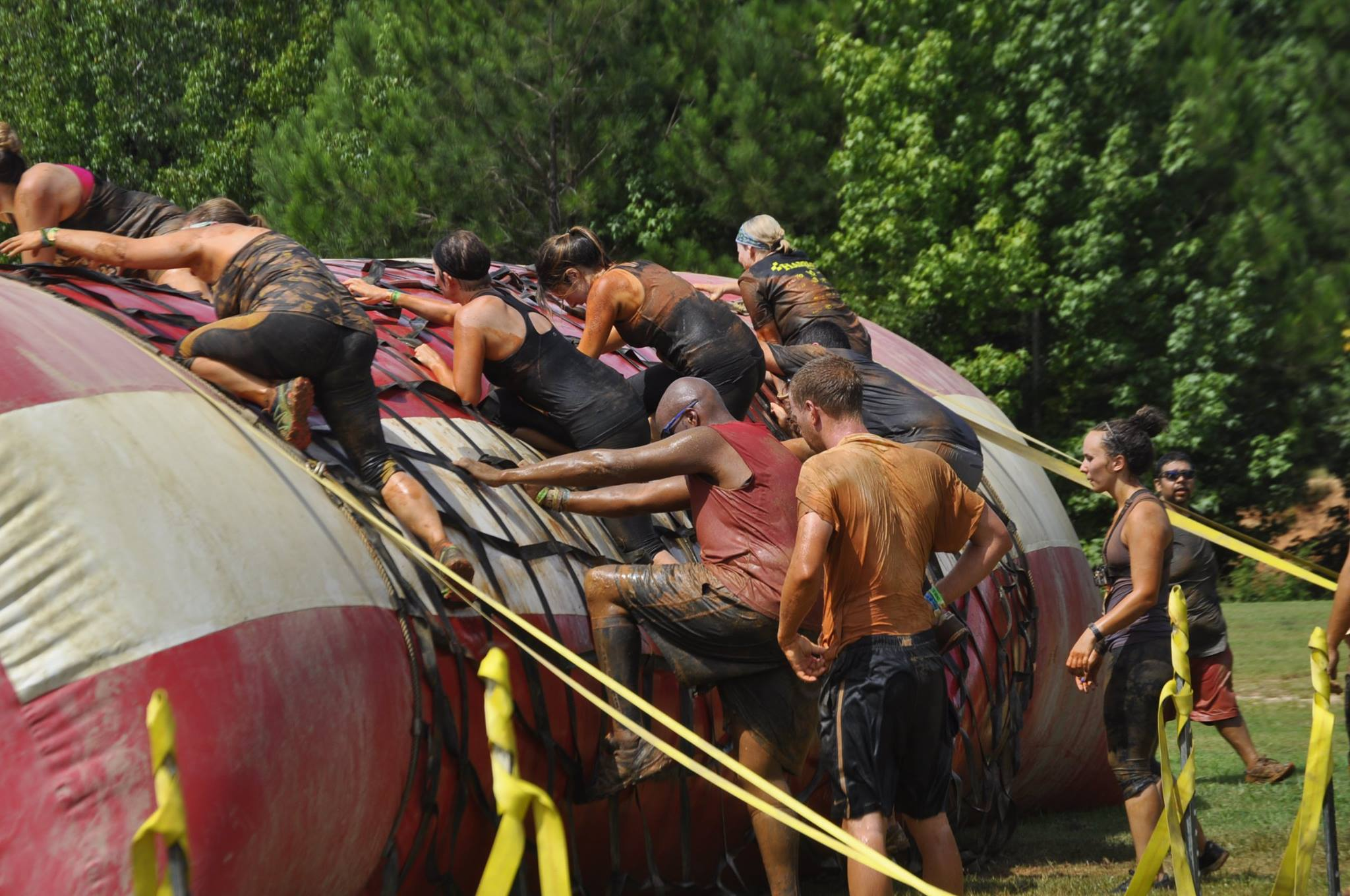 Rugged Maniac - The Blobstacle