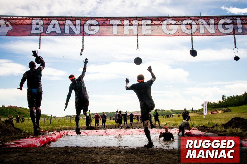 Bang the Gong - Rugged Maniac