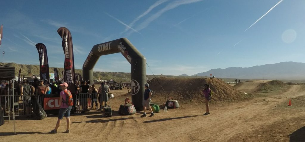 Spartan Race Las Vegas Startline
