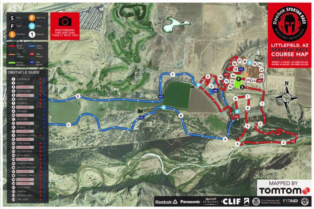 Spartan Race - Las Vegas Course Map