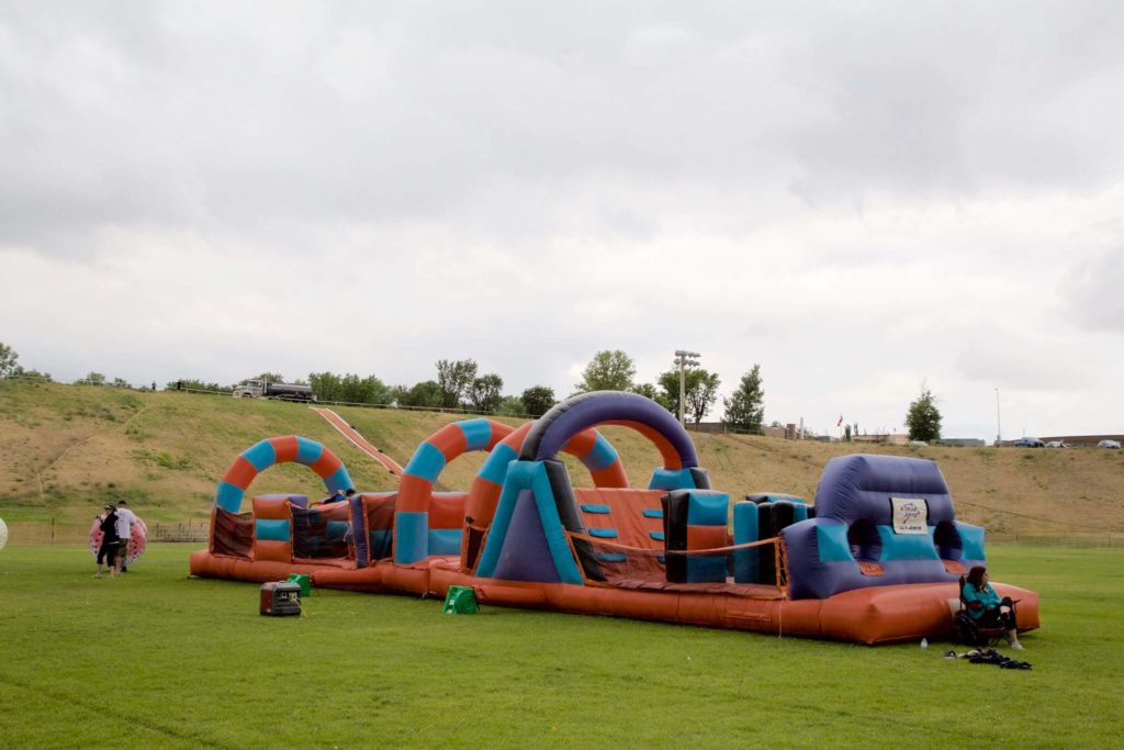 Muddy Warrior bouncy