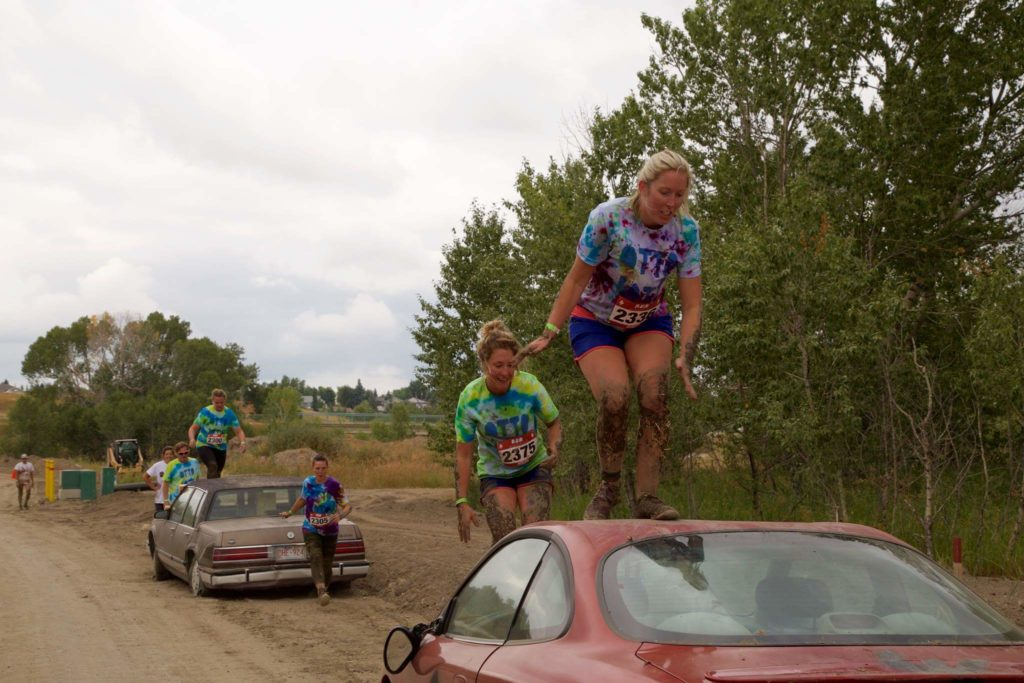 Muddy Warrior Car
