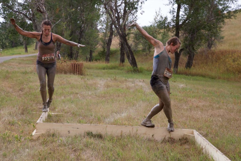 Muddy Warrior Balance