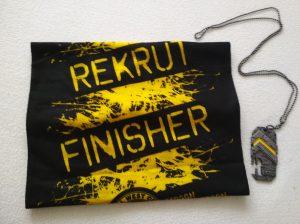 Runmageddon Recuit Medal