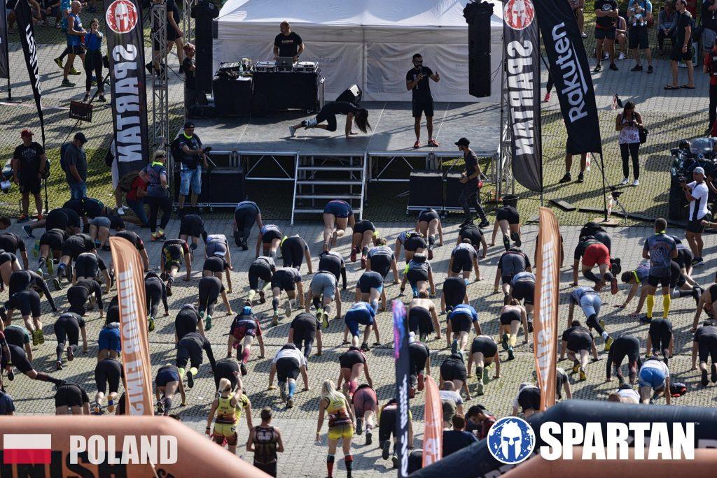 Spartan Krynica Open heat training